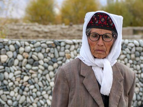 A Tajik woman in Tashkurgan