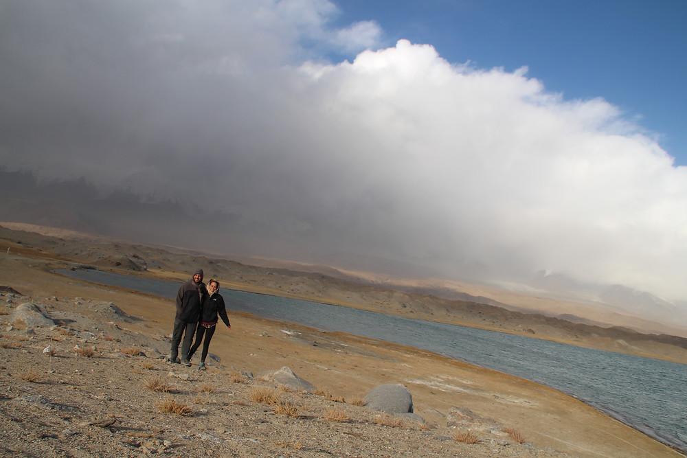 איתי וסופות חול באגם קרקול
