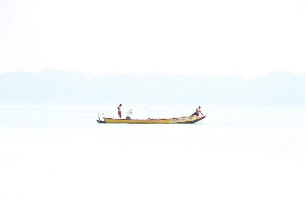 סירה בים אנדמן