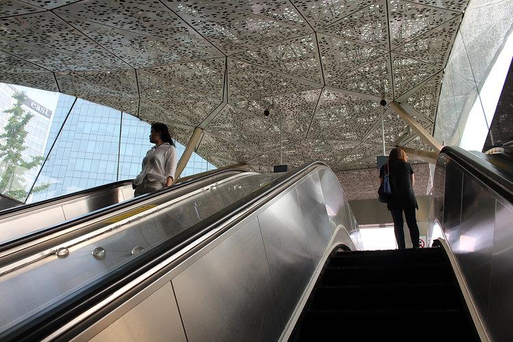 תחנת מטרו בבייג'ינג