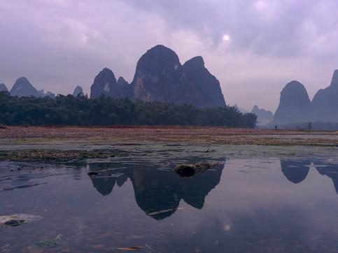 Sunset in Xingping, Yangshuo