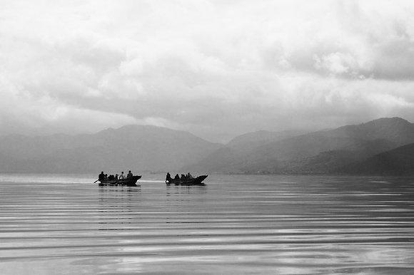 Lugu Lake BW