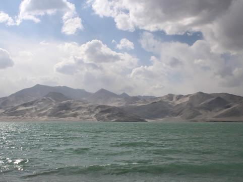 White Sand Lake, Xinjiang province