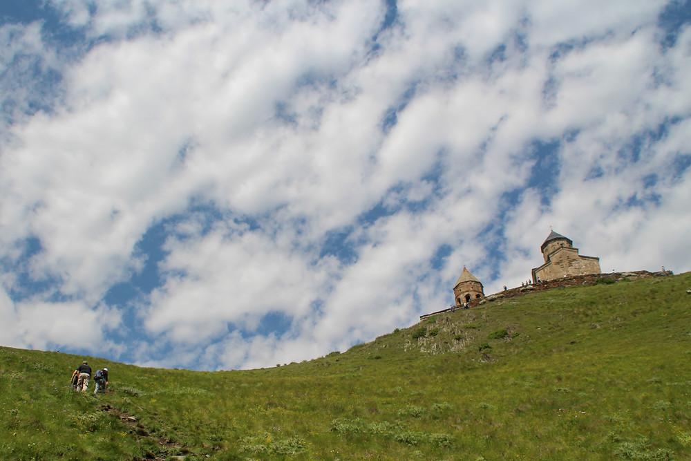 כנסיית גרגאתי טריניטי, קזבגי, גאורגיה