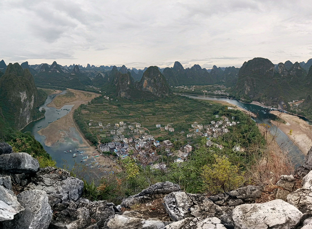 Laozhai hill, xingping, china