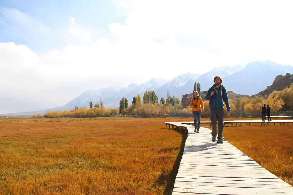 Tashkurgan's dry grasslands
