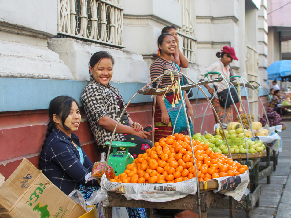 Yangon's streets