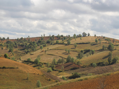 On the way from Kalaw to Inle Lake