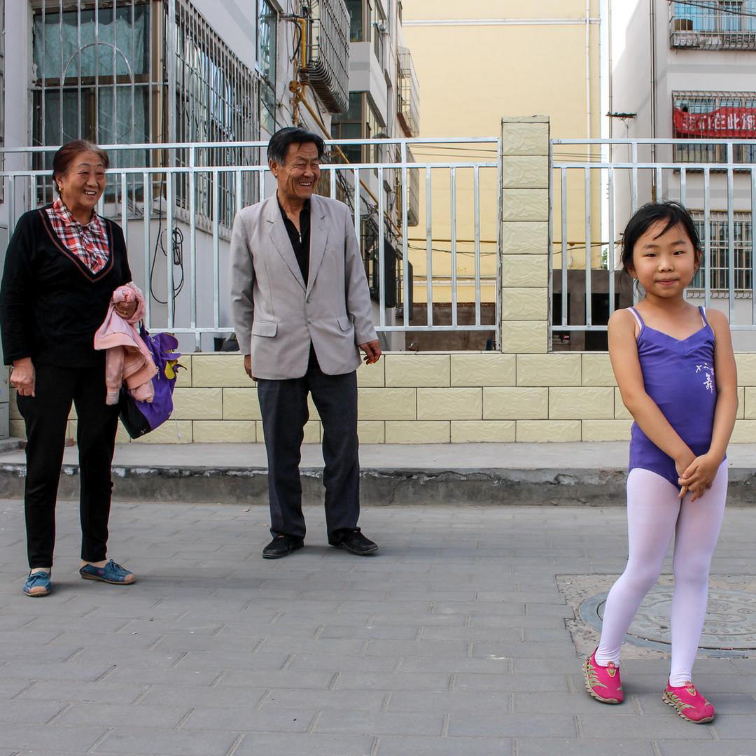 Zhangye's streets, China