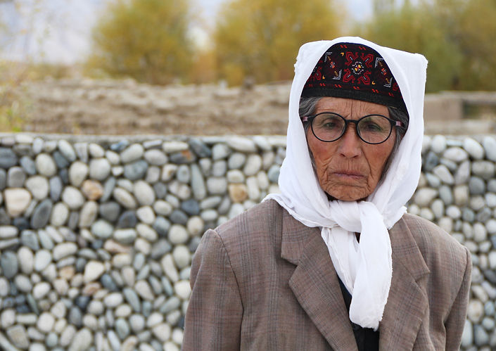 A Tajik woman in Tashkurgan, Western China