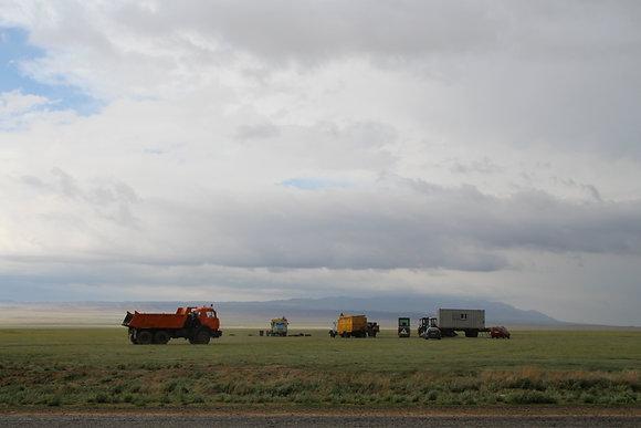 Kazakh trucks