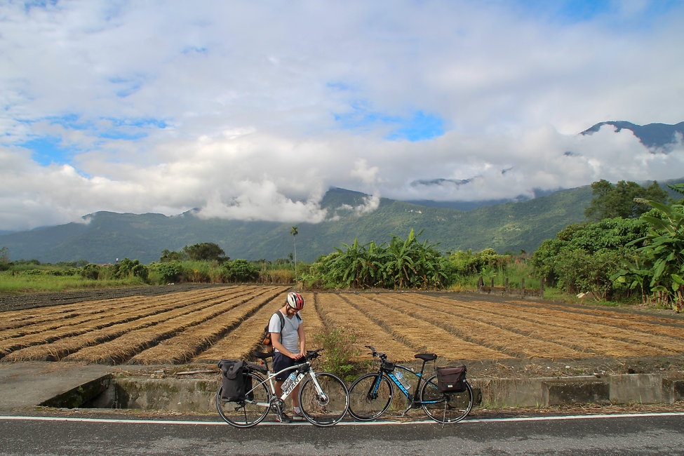 on the road between Hualien and Taitung