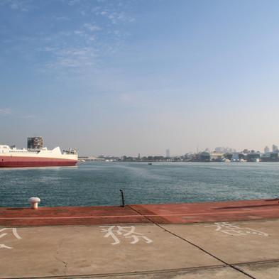 Tainan's harbour, Taiwan