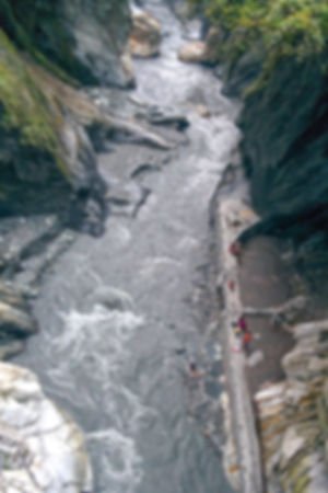 natural hot springs in Taroko national park