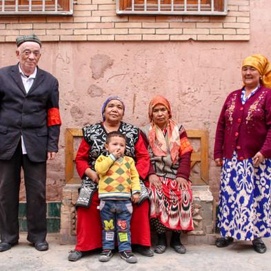 Kashgar's old town, China