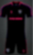 FA Black Uniform Trainng Gear design 201