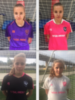 Kari 4 uniforms 2019 Purple Pink Black W