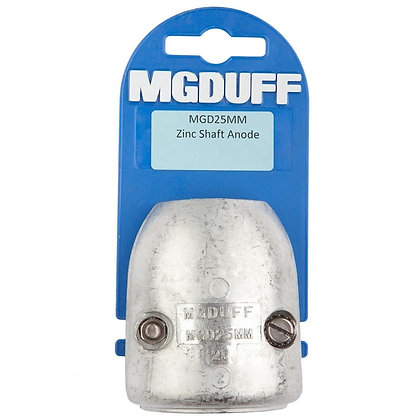 MG Duff | Zinc Shaft Anode (25mm)