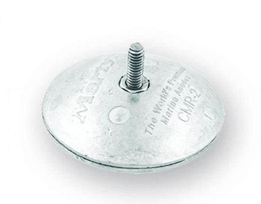 MG Duff - Zinc Bolt On Disc Anode (Pair) (50mm)