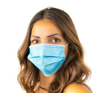 Zivile Einweg-Nasen-Mund-Maske