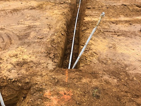 More conduit in the ground!