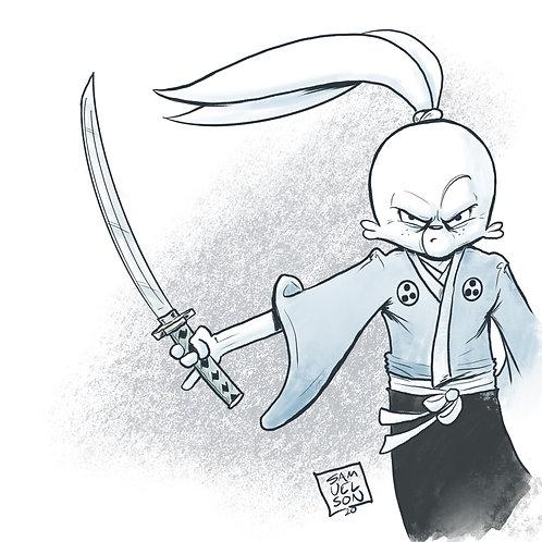 Rabbit Bodyguard Print