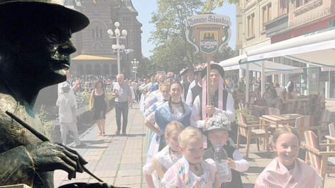 Der Schwabenmaler bei den Heimattagen der Deutschen im Banat