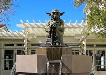 Yoda Fountain