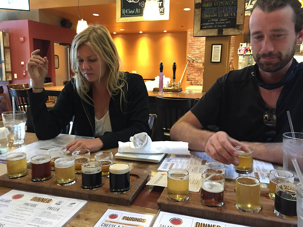 San Francisco beer tasting