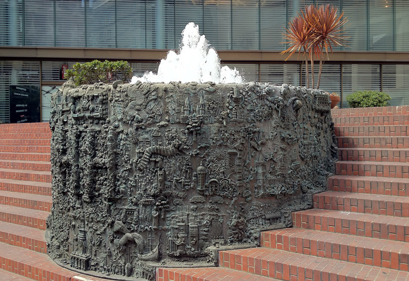 Ruth Asawa's San Francisco Fountain
