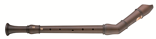 Moeck Flauto Rondo 2451 Knick Tenor in stained Maplewood