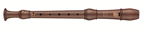 Moeck Flauto Rondo 2203, Soprano in stained Pearwood
