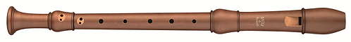 Moeck Flauto Rondo 2303 Alto in stained Pearwood