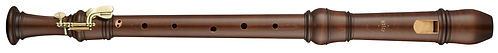Moeck Rottenburgh 4421, Tenor with 2 keys in stained maplewood