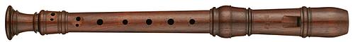 Moeck Rottenburgh 4105 Sopranino in Rosewood