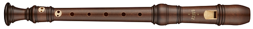 Moeck Rottenburgh 2-Piece 4291, Soprano in stained Maplewood