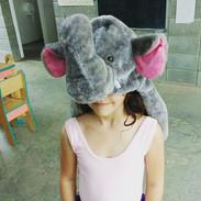 Hay días en que jugamos a ser elefantes