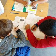 Lectura y escritura en grupo
