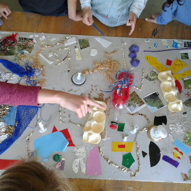 El atelier es un espacio de creación y experimentación en artes plásticas y música