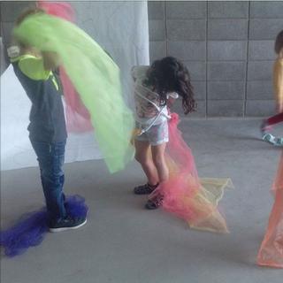 Texturas, colores y movimientos