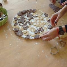 Galletitas con moldes