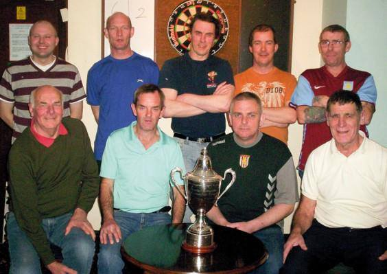 Title winning Darts Team