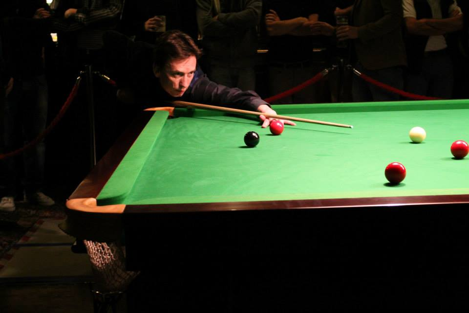 Ken Doherty Playing at the Club