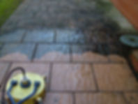 This Shows How To Clean Patios In Worcestershire, Herefordshire and Gloucestershire.