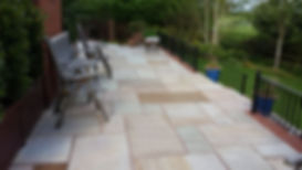 Patio cleaned in Welland