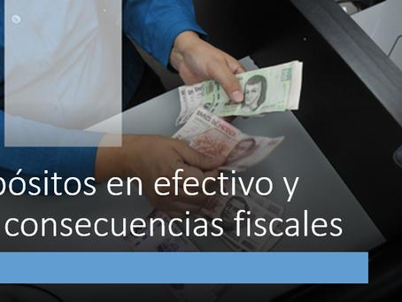 Depósitos en efectivo y sus consecuencias fiscales