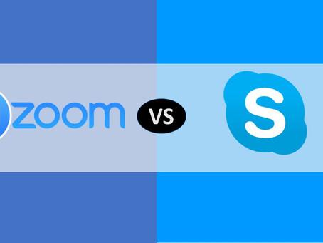 Zoom y Skype: Ventajas y desventajas