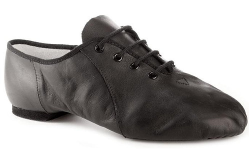 Black Split Sole Jazz Shoes
