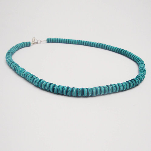 PAPER JEWELRY /dark teal, teal, light blue