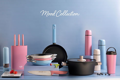 mood collection pans and pots
